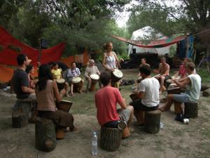 Barakoo dobkör a Hanna Hanna fesztiválon